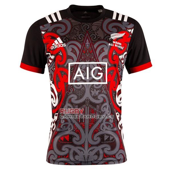f6e113385 Camiseta Nueva Zelandia Maori All Blacks Rugby 2019 Entrenamient