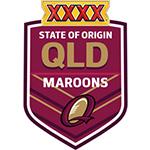 Nuevo Camiseta Queensland Maroons Rugby 2016 Primera replicas