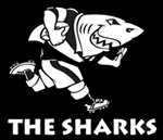 Nuevo Camiseta Sharks Rugby 2016 Primera replicas